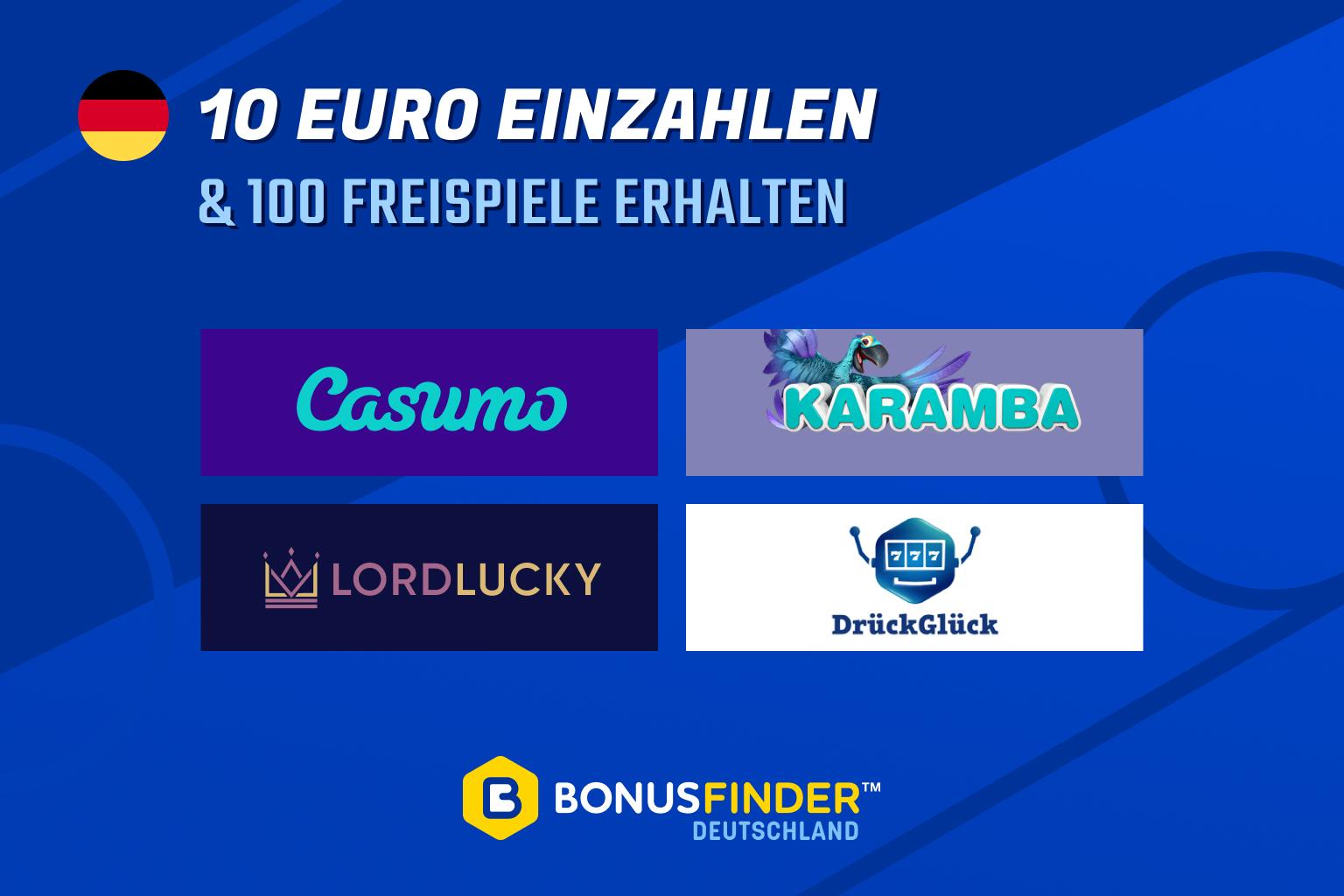 10 euro einzahlen 100 freispiele