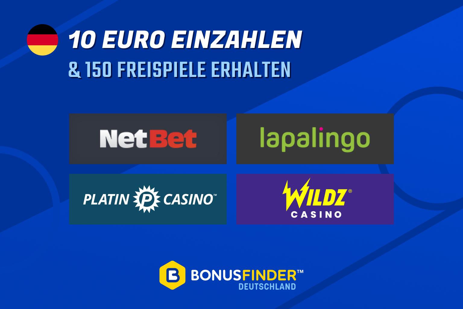 10 euro einzahlen 150 freispiele