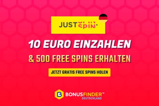 10 euro einzahlen 500 free spins
