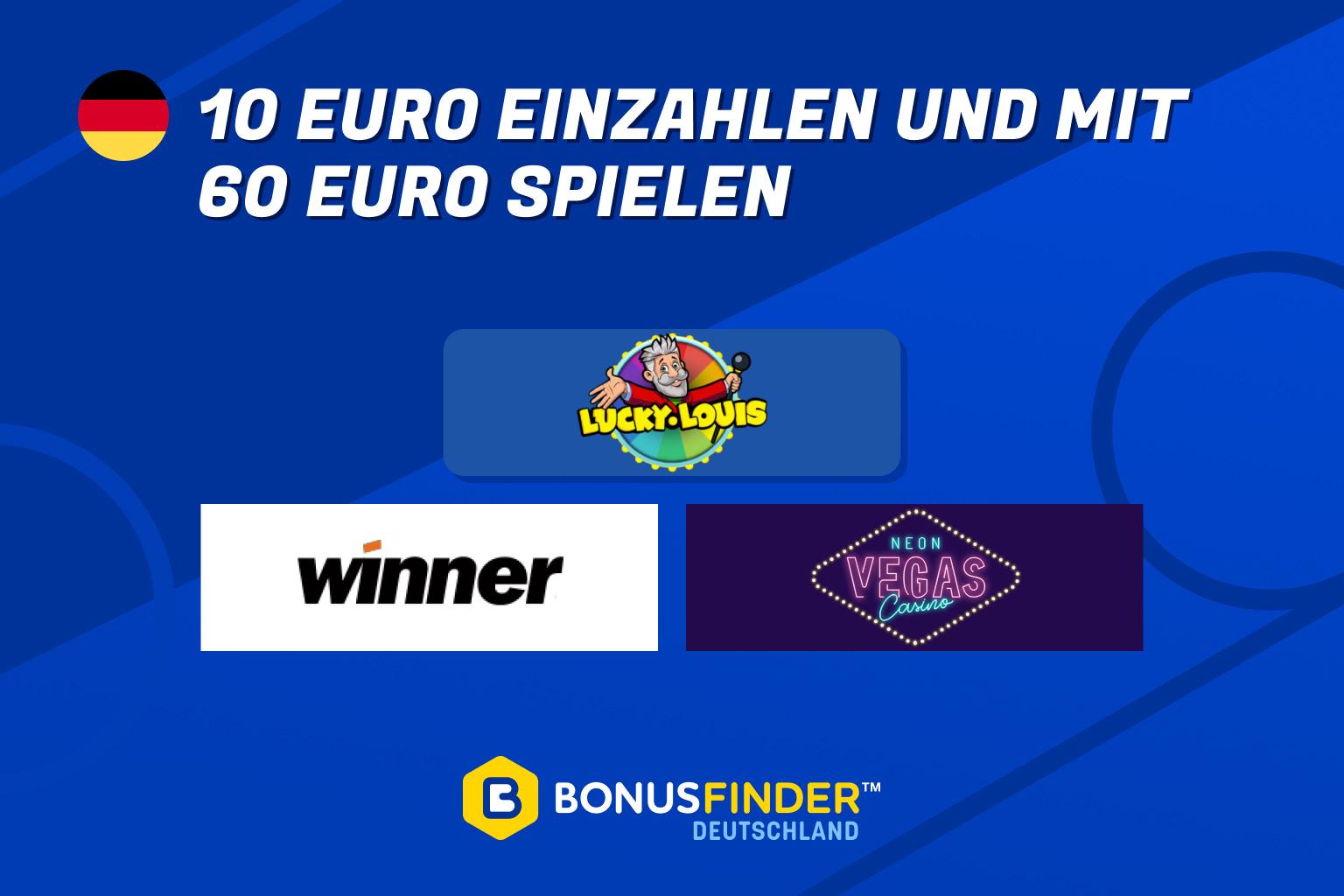 10 euro einzahlen 50 euro spielen