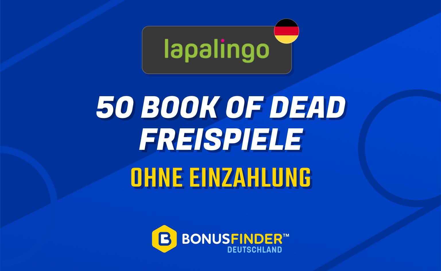 50 book of dead freispiele lapalingo