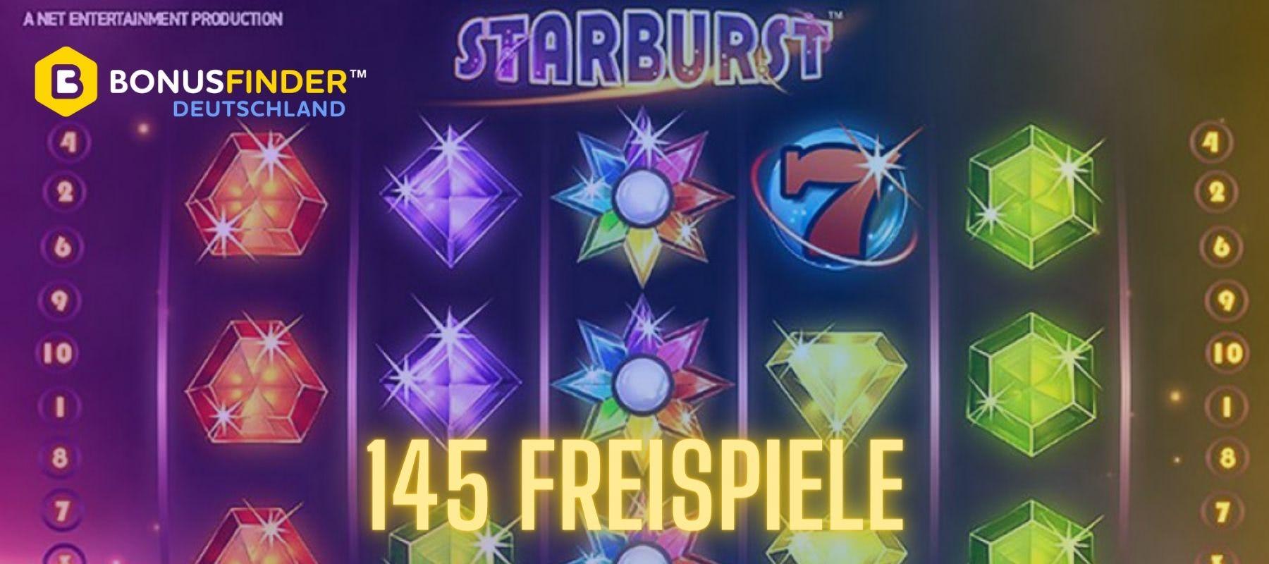 50 free spins starburst