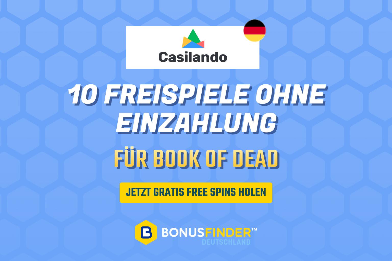 casilando book of dead freispiele