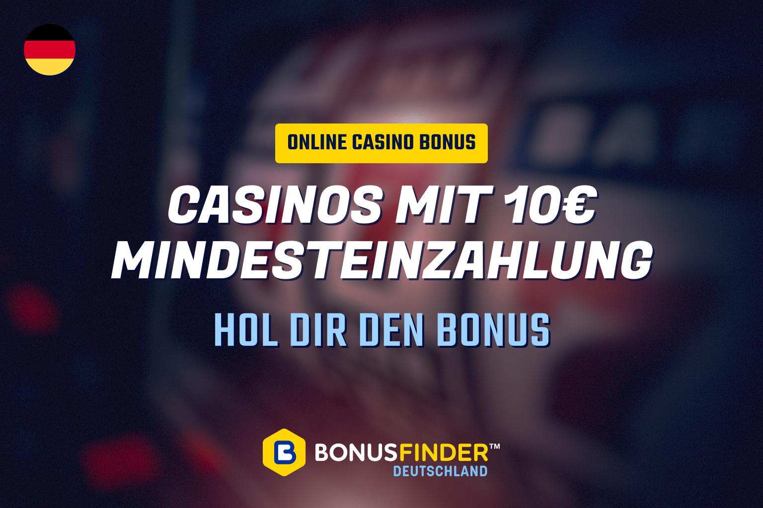 casino 10 euro mindesteinzahlung