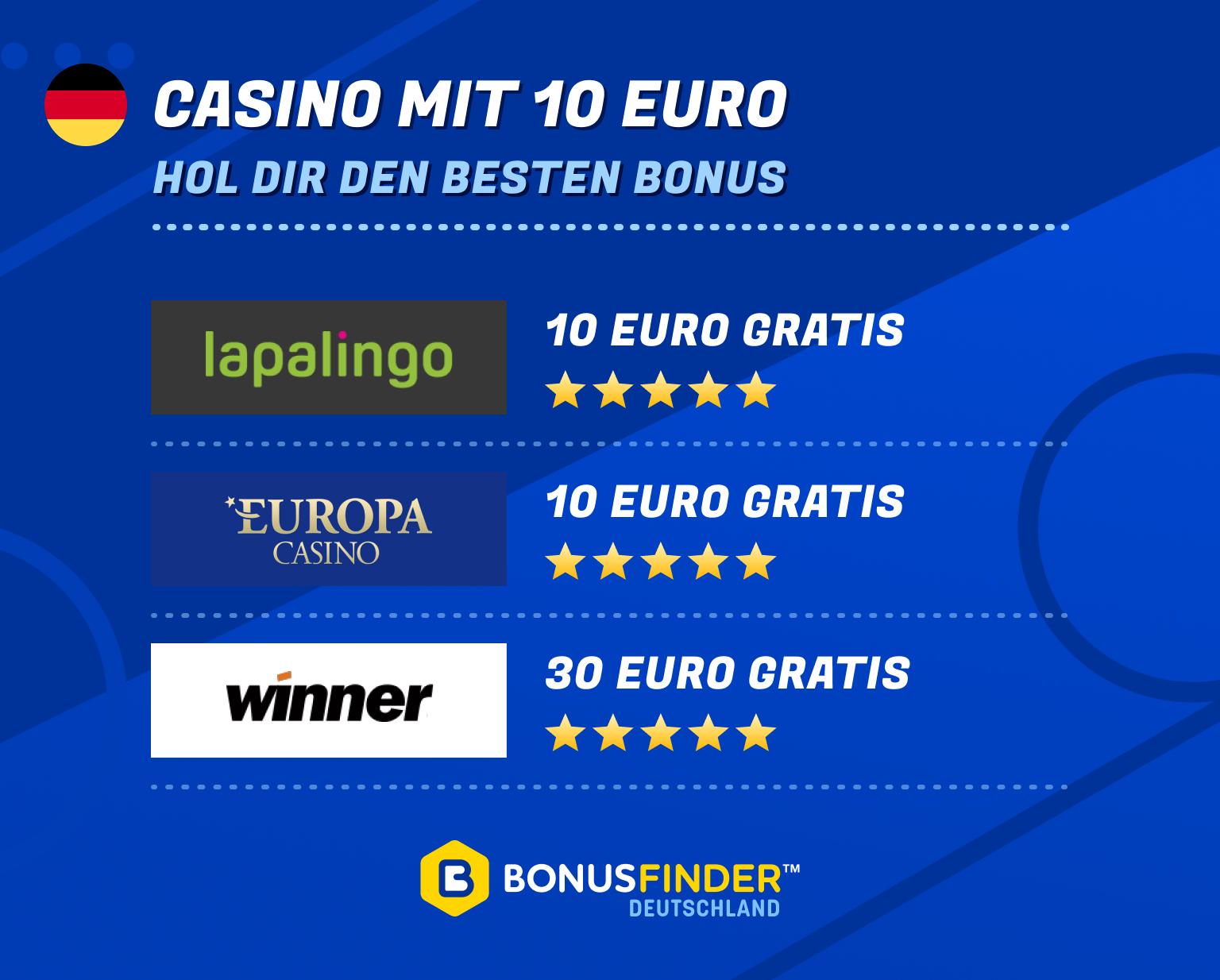 casino mit 10 euro