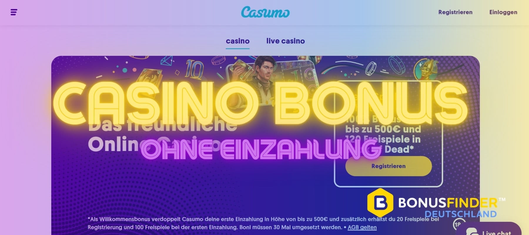 Bonus Ohne Einzahlung 2021