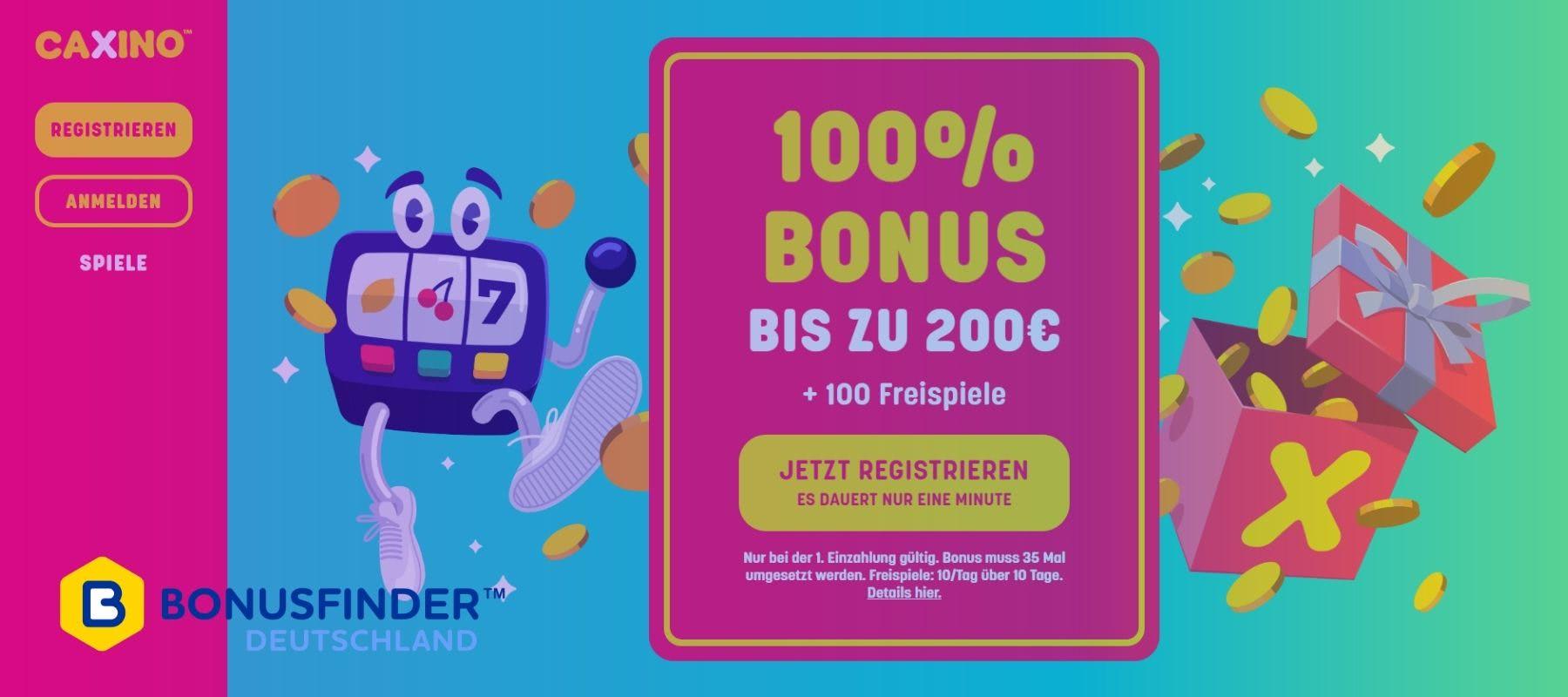 caxino casino bonus code