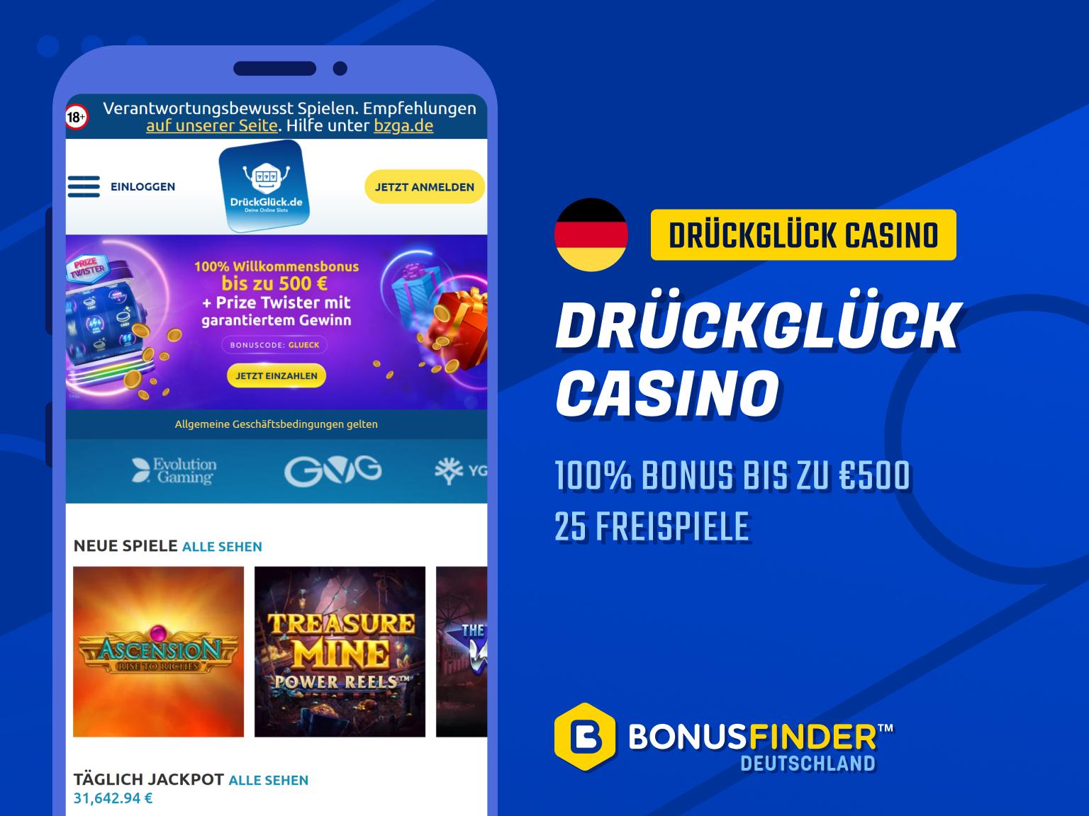 drückglück-bonus