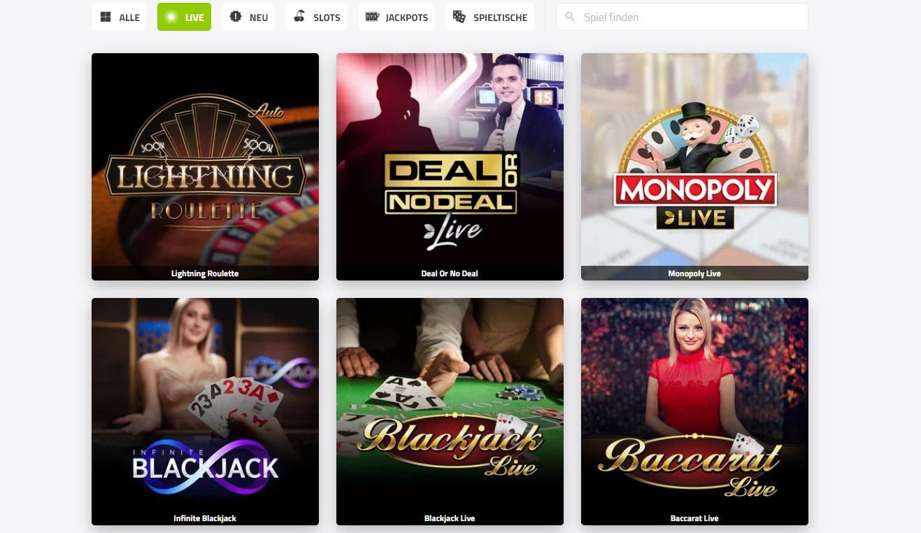 Jefe live casino