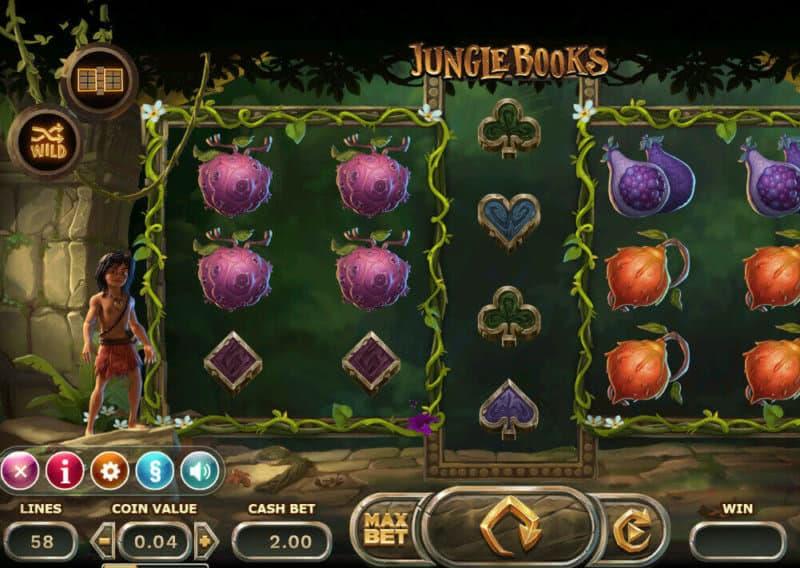Freispiele für Jungle Books slot