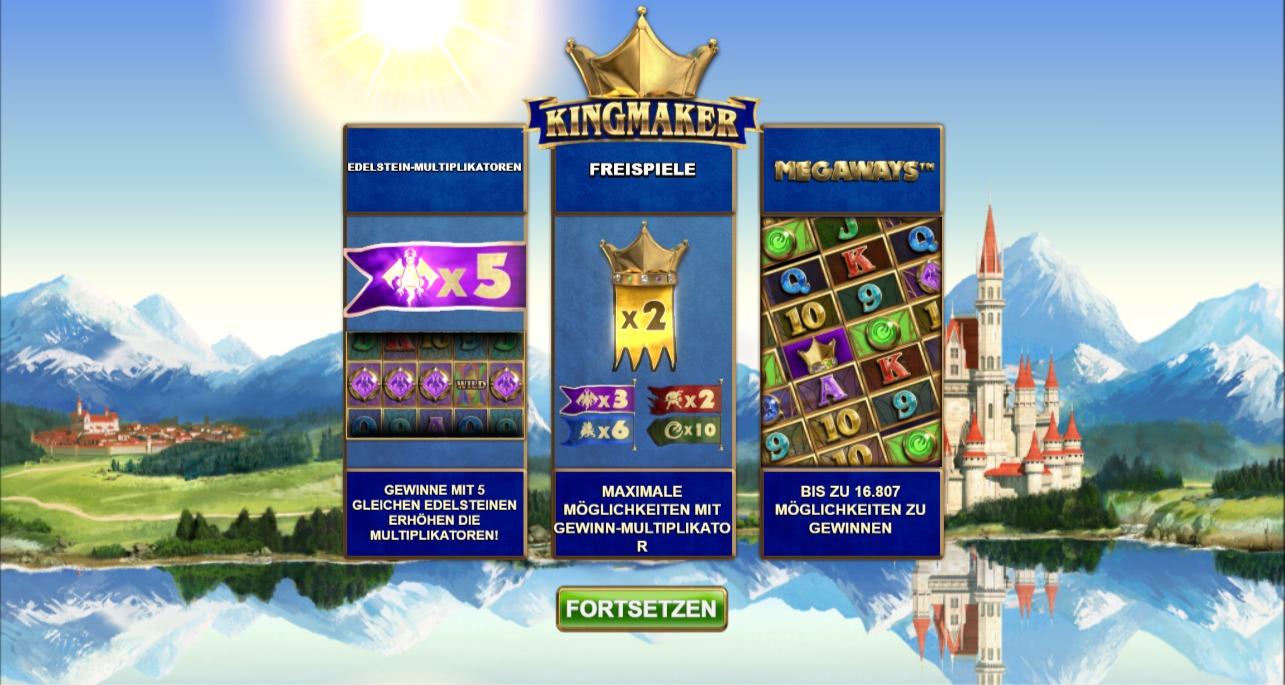 kingmaker slot freispiele