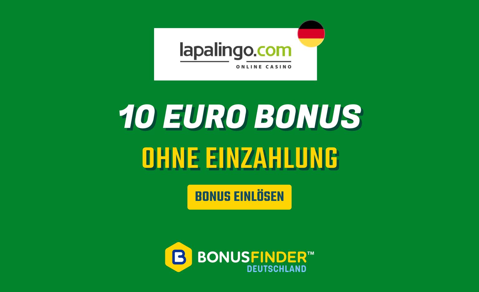 lapalingo 10 euro bonus ohne einzahlung