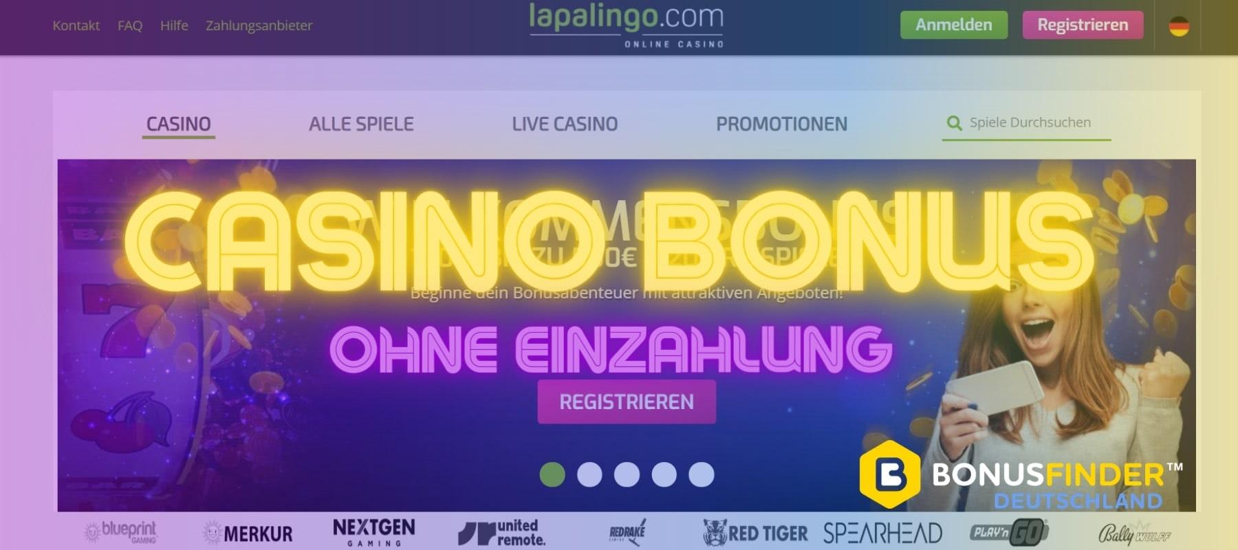 lapalingo casino bonus ohne einzahlung