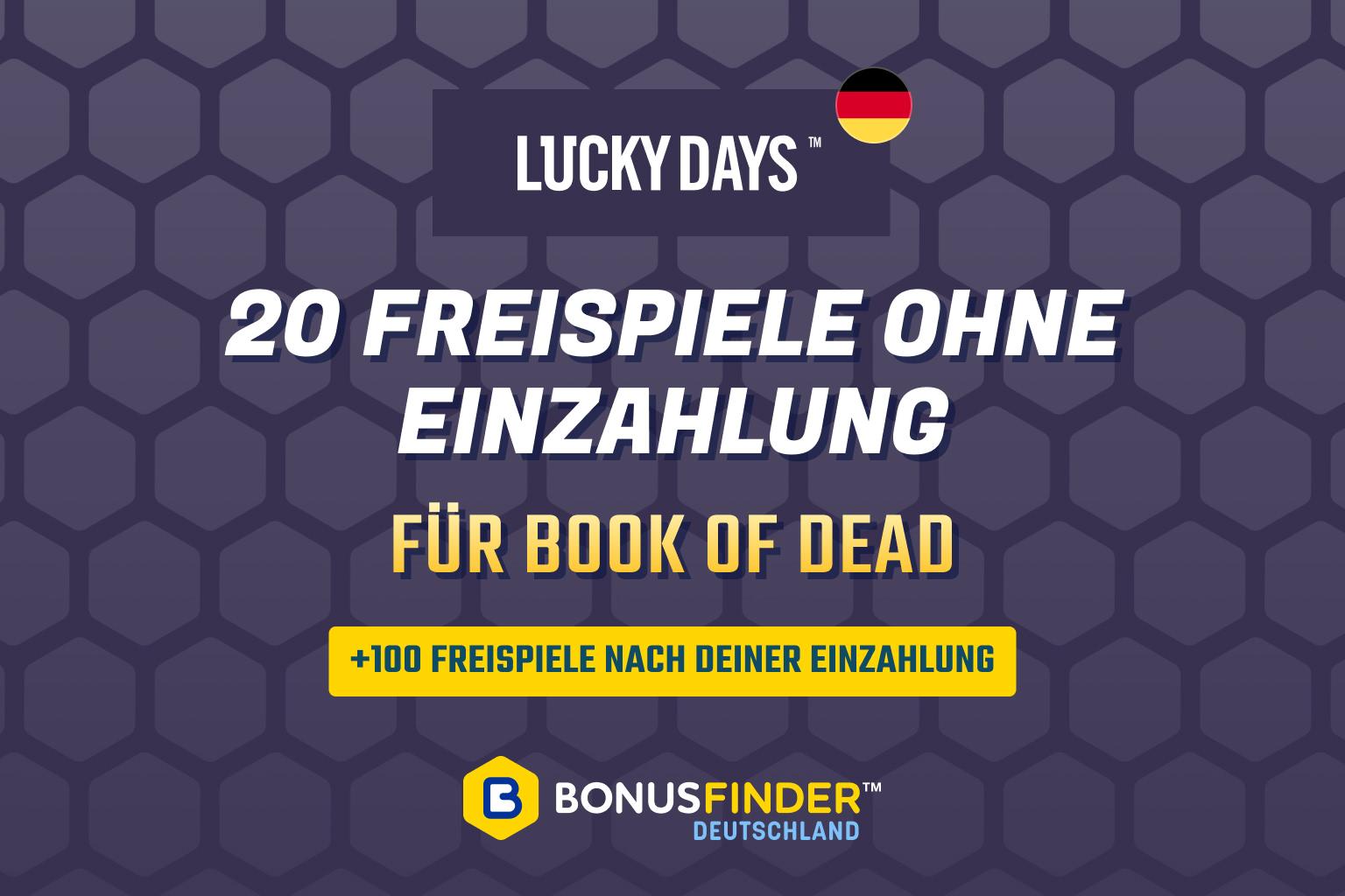 lucky days book of dead freispiele