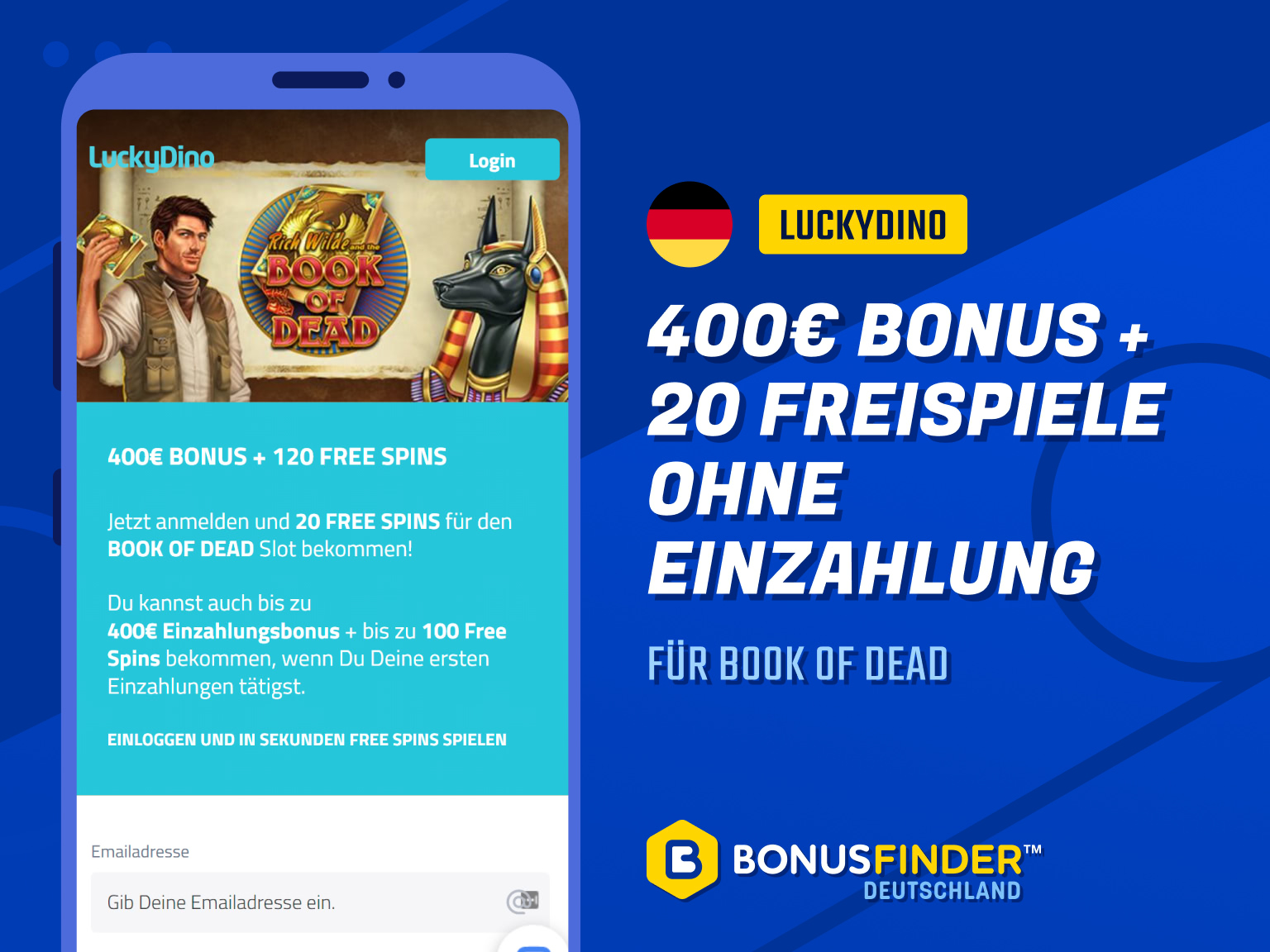luckydino no deposit bonus