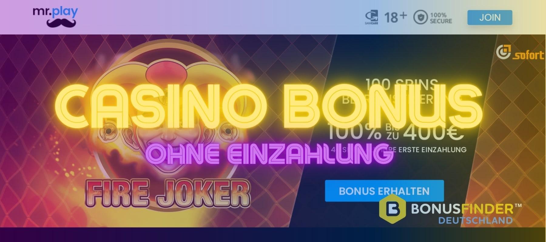 mr play casino bonus ohne einzahlung