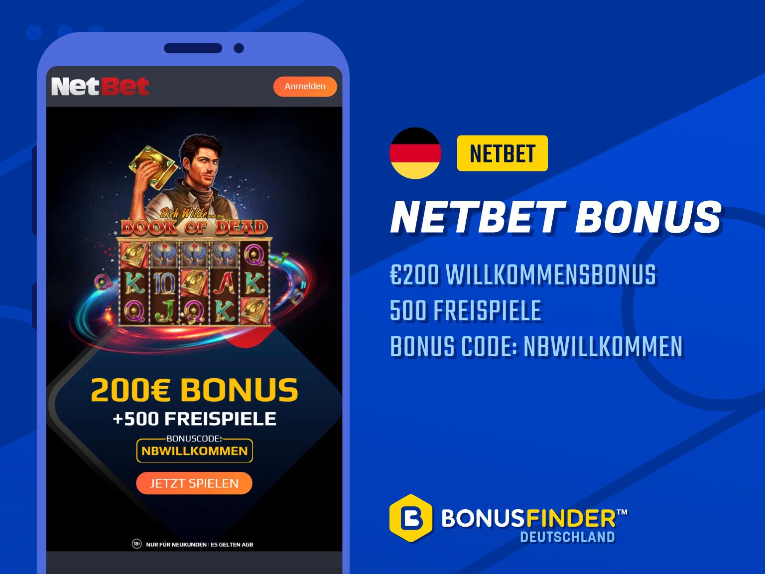 netbet bonus