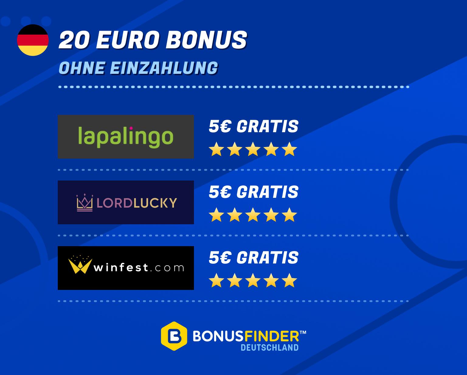 20 euro bonus ohne einzahlung casino