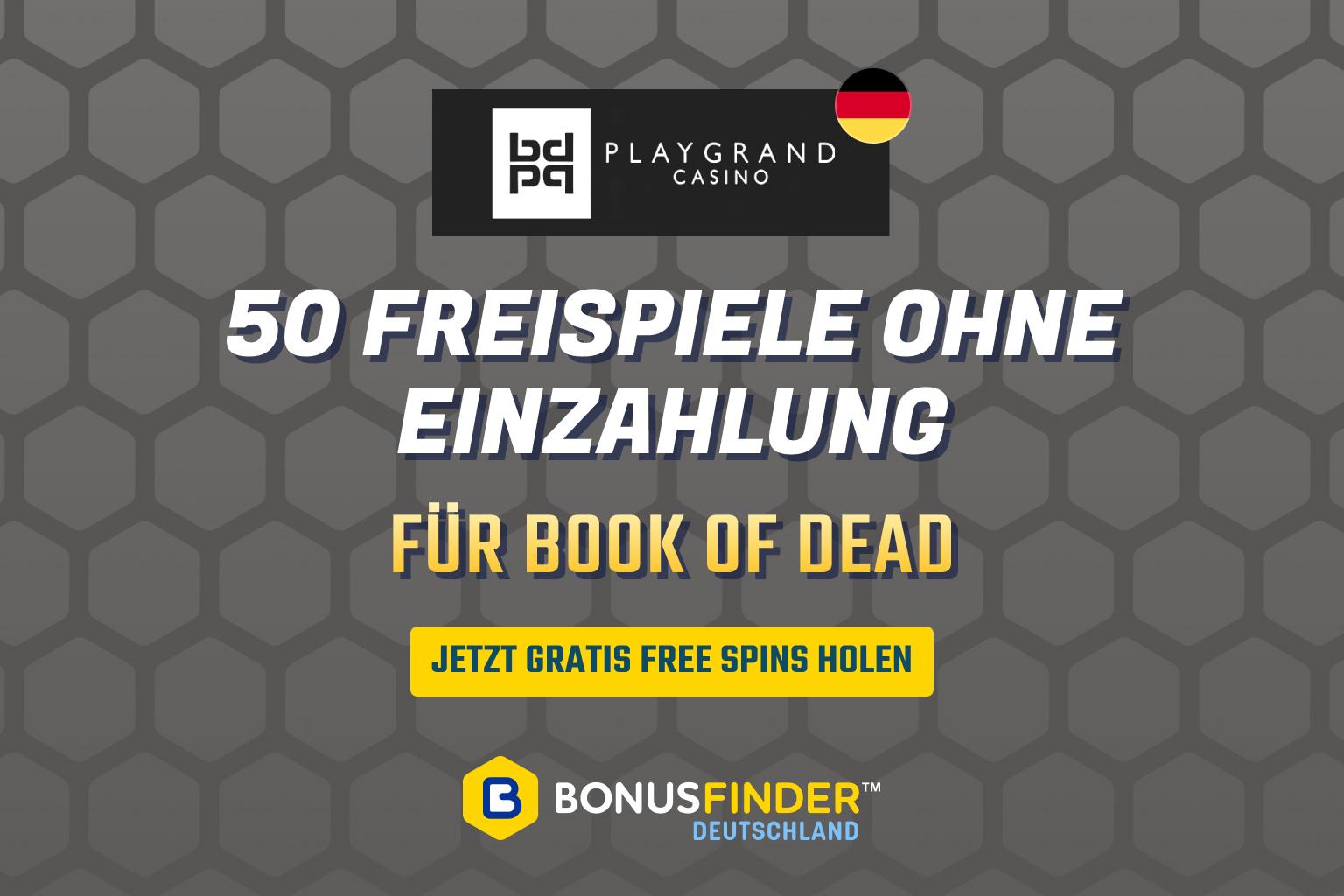 playgrand book of dead freispiele