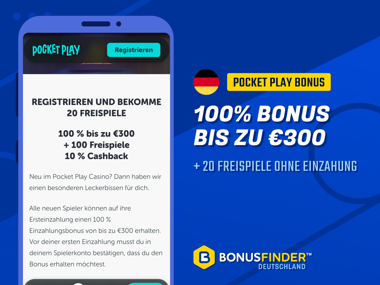 pocket play no deposit bonus