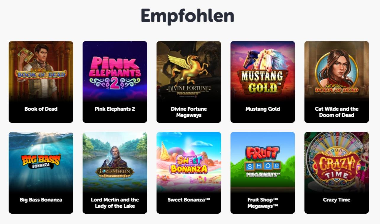 Pocket Play exklusive slots