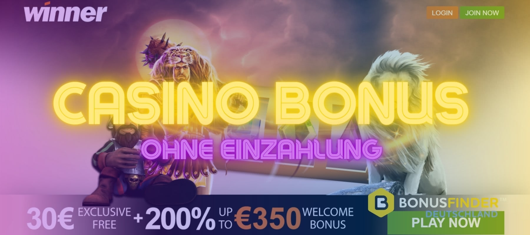 Winner Casino Bonus